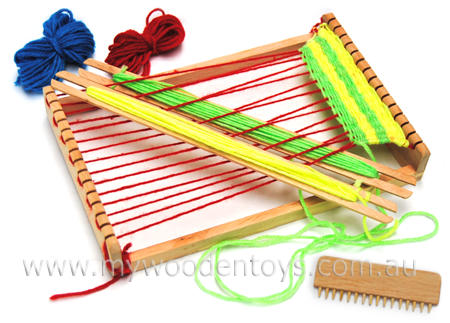 Children\'s Wooden Weaving Loom