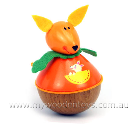 Wibbly Woobly Wooden Kangaroo