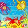 Knob Puzzle Sea Creatures Detail-Three