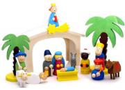 Wooden Toy Christmas Nativity Set