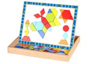 Magnetic Puzzle Shapes Whiteboard Blackboard