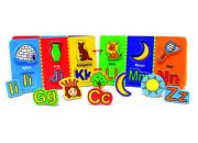 Magnetic Wooden Alphabet Book