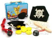 Pirate Tin Suitcase Adventure Set