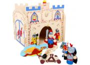 playset wooden castle
