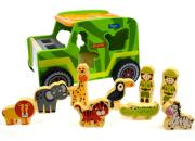 safari jeep shape sorter