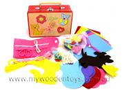 sewing kit tincase