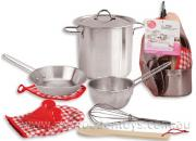 Stainless Steel Cooking Toy Playset