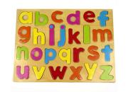 wooden alphabet puzzle lowercase