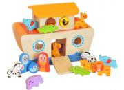 Wooden Toy Noah's Ark