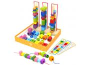 Wooden Bead Sequence Game