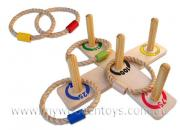 Wooden Classic Ring Toss Quoits
