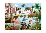 Wooden Pirate Puzzle 100 Pieces