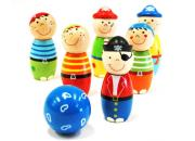 Wooden Pirate Skittles