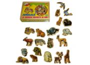 wooden toy magnetic animals