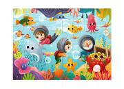 wooden under sea puzzle 24 piece