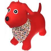 Bouncy Ride On Hopper Red Dog