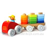 Farm Tractor Stacking Shapes