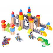 Wooden Blocks Knights Castle