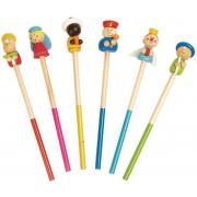 Christmas Wooden Nativity Pencil Set