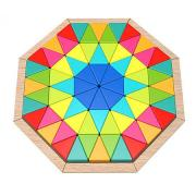 Wooden Mosaic Octagon Puzzle
