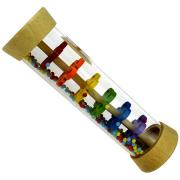 Wooden Toy Clear Rainstick