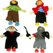 Pirate Dolls Wooden