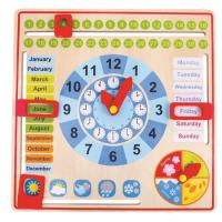 Date Time Weather Wooden Calendar