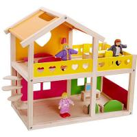 Wooden Doll House Happy Villa