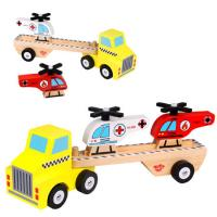 Helicopter Carrier Truck Wooden