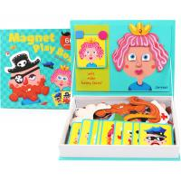 Magnetic Funny Faces Game