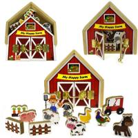 Metal Latch Farm Playset