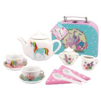 Mini Porcelain Unicorn Tea Set