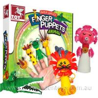 Paper Quilling Finger Puppets
