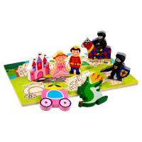 Princess Chunky Wooden Puzzle