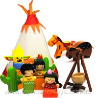 Native American Teepee Playset