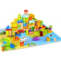 Wooden Blocks Jungle 135 Pieces