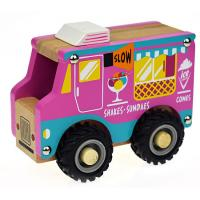 Wooden Toy Ice Cream Van