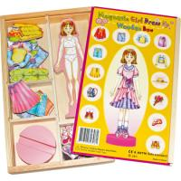 Magnetic Wooden Dress Up Doll