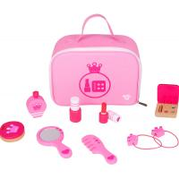 Pink Wooden Makeup Playset
