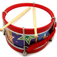 Wooden Toy Marching Drum
