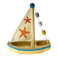 Wooden Toy Sailing Boat