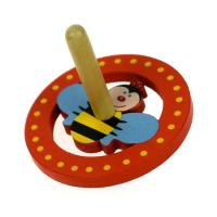 Wooden Toy Spinning Top