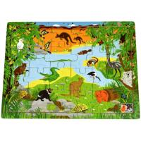 Wooden Puzzle Australian Animals