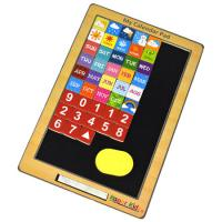 Wooden Toy Calendar iPad
