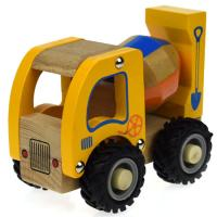 Wooden Toy Cement Mixer Truck