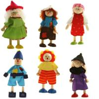 Wooden Dolls Wizard of Oz